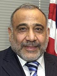 Adil Abdul Mahdi. Bron Wikipedia