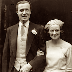 Duncan Sandys en Diana Churchill. Foto van Life