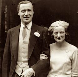 Duncan Sandys en Diana Churchill. Foto van Life
