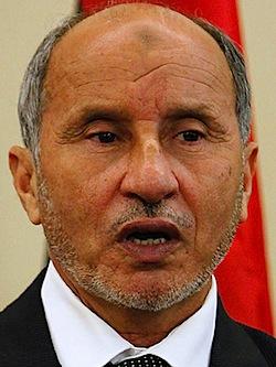 Mustafa Abdul Jalil. Foto: AP, Magid El Ferfgany