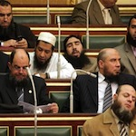 A bunch of sleeping salafi Egyptian MPs